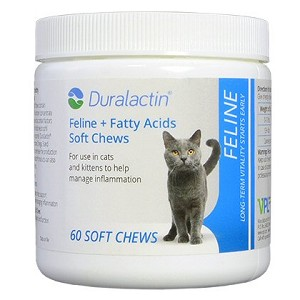 Relieves joint pain in cats with NO side effects and NO steroids! - contain Omega 3 and Omega 6 Fatty Acids to support normal activity and wellness