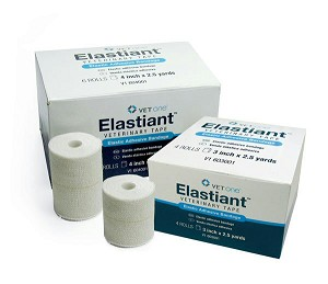 Generic to expensive Elastikon - elastic adhesive bandage suitable for medium support or compression - fluffy non-fray edges