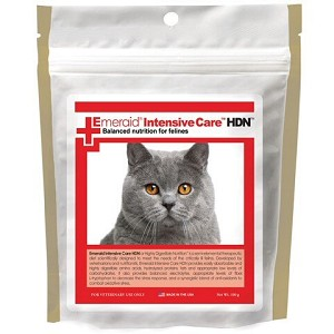 EmerAid Intensive Care HDN Feline or Highly Digestible Nutrition is a therapeutic diet scientifically designed for the critically ill cat or kitten - easily absorbed and highly digestible formula