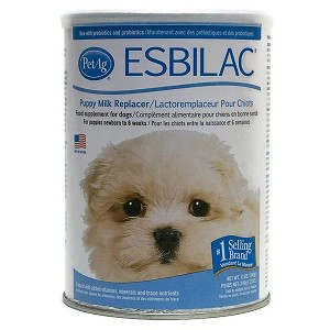 For puppies newborn to 6 weeks of age – contains natural milk protein with added vitamins and amino acids