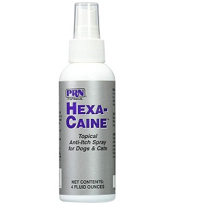 Contains Bitrex to stop fur licking and wound biting and Lidocaine topical anesthetic to minimize pain and itching on skin