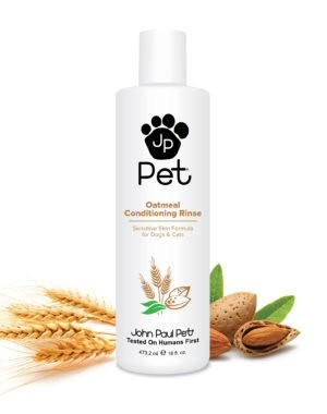 Rich conditioner with a special blend of five conditioning agents including oatmeal and chamomile, create a soothing conditioning rinse