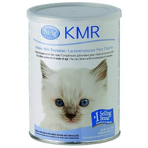 For kittens newborn to 6 weeks of age and food supplement for cats - natural milk protein with added vitamins and amino acid