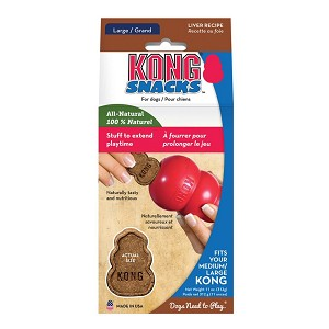 All-natural and made in the USA, these irresistible liver snacks are great for stuffing into KONG Classic and rubber toys for extended play