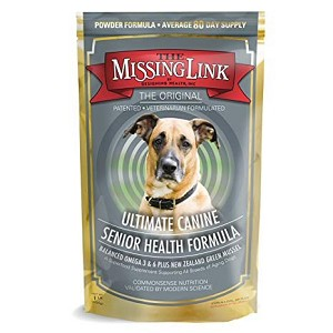 This Senior Formula nutritionally supports healthy cognitive brain function, digestive system and aging joints of older dogs