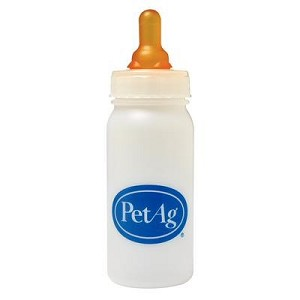 Durable plastic bottle with graduated markings - withstands repeated use and sterilization