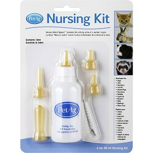Kit includes bottle with nipple, 4 extra nipples and cleaning brush !