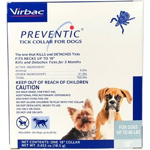 Starts working within 24 hours of application for up to 90 days – not for use on puppies under 12 weeks of age or cats