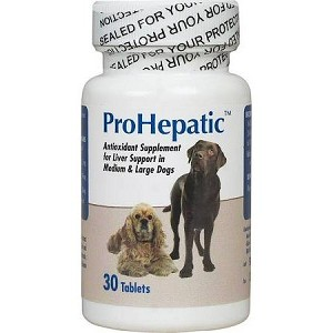 ProHepatic Liver Support - Medium & Large Dogs - 30 chewable tabs