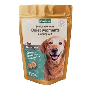 Great calming supplement for fireworks, thunderstorms, traveling, separation anxiety, trips to the vet or groomers or anytime your dog is feeling nervous or stressed