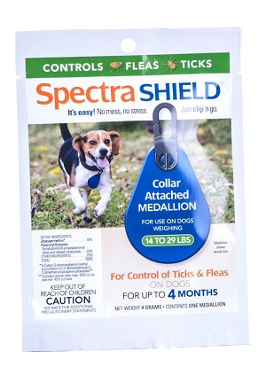 Unique alternative to collars and monthly spot-ons - continuous release of small amount of ingredients assures a full 4 MONTHS of protection from fleas and ticks - DO NOT USE ON CATS