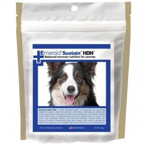 Sustain HDN, Highly Digestible Nutrition, has been developed by veterinarians and nutritionists to be a nutritionally balanced food that can be fed as a full meal – can be utilized as a food 5 different ways