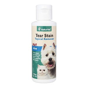 Antibiotic-free formula is a gentle and effective, topical water-based wiping solution for removing tear and saliva stains from your pet's fur