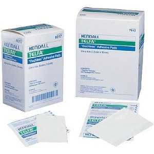 Quality, Sterile, non stick wound pads - highly abosorbent cotton fabric - can cut into any shape or size - buy per pad or full box of 100 pads