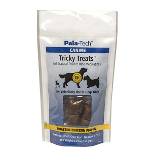 Tricky Treats Medication Wraps - Roasted Chicken Flavor - 30 treats