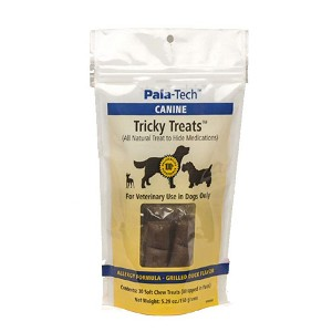 Tasty, all natural treat to hide medications - proprietary blend provides excellent texture and aroma to encourage your pet to chew and swallow as a treat with medication hiding inside