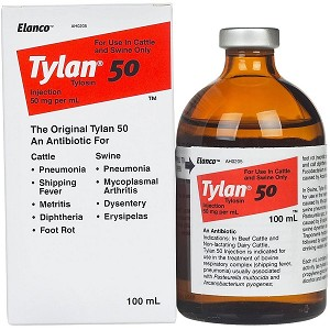 Tylan has an antibacterial spectrum that is essentially gram-positive, but it is also active against certain spirochetes, large viruses, and certain gram-negative organisms (not including coliforms). It has also been found to be active against certain Mycoplasma species.