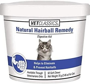 Natural ingredients help to eliminate and prevent hairballs