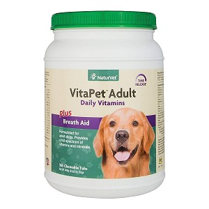 VitaPet Adult Plus Breath Aid - Time Release - 365 Tablets