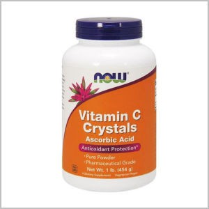 Vitamin C Crystals- Pharmaceutical Grade, Pure Powder - 1lb.