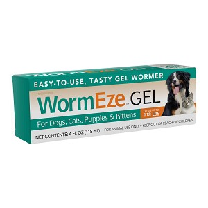 Wormeze Piperazine Gel for Dogs and Cats - 4 oz.